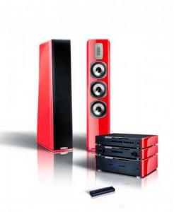 AURUM Lautsprecher und elektronik in der Limited Edition 2013 - BLUTORANGE